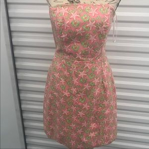 ADORABLE VINEYARD VINES STRAPLESS PINK DRESS- 6